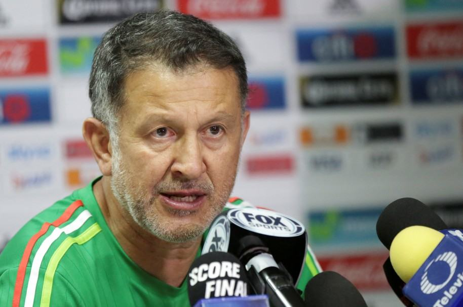 Conferencia de prensa de Juan Carlos Osorio en Trinidad y Tobago