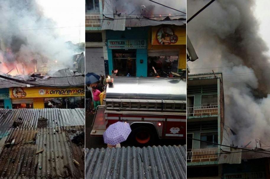 Incendio en Girardot