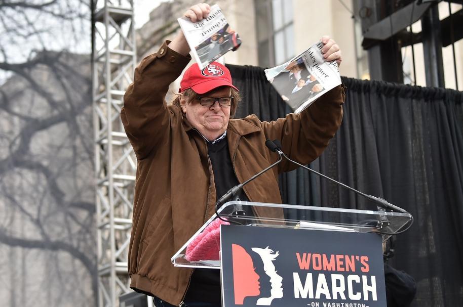 Michael Moore en Washington
