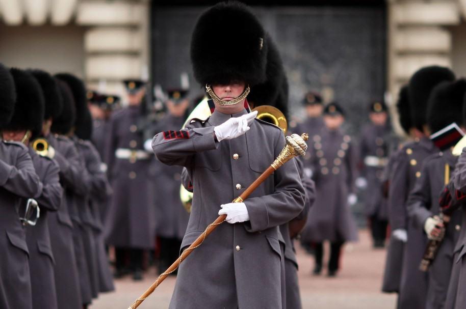 Guardias británicos