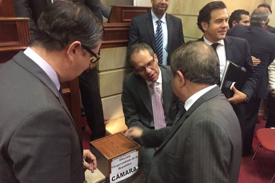 Votación en la Cámara de Representantes
