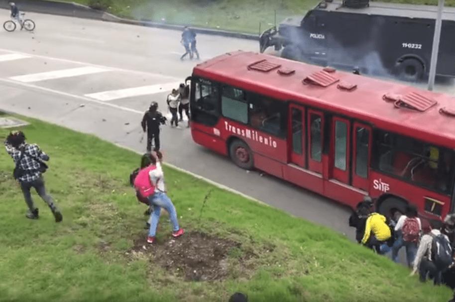 Ataques a Transmilenio