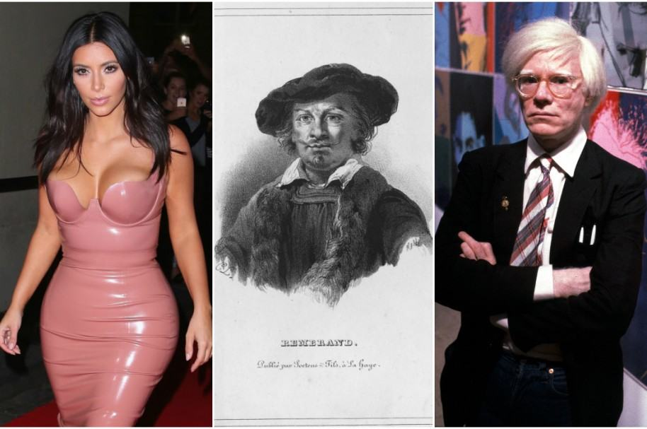 Kim Kardashian / Rembrandt / Andy Warhol