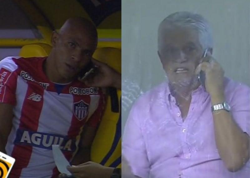 Johnatan Estrada y Julio Comesaña