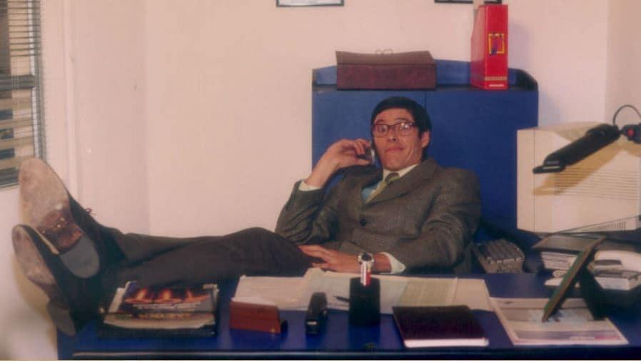 El actor Mario Duarte cuando interpretaba a Nicolás Mora en la novela 'Yo soy Betty la fea'.