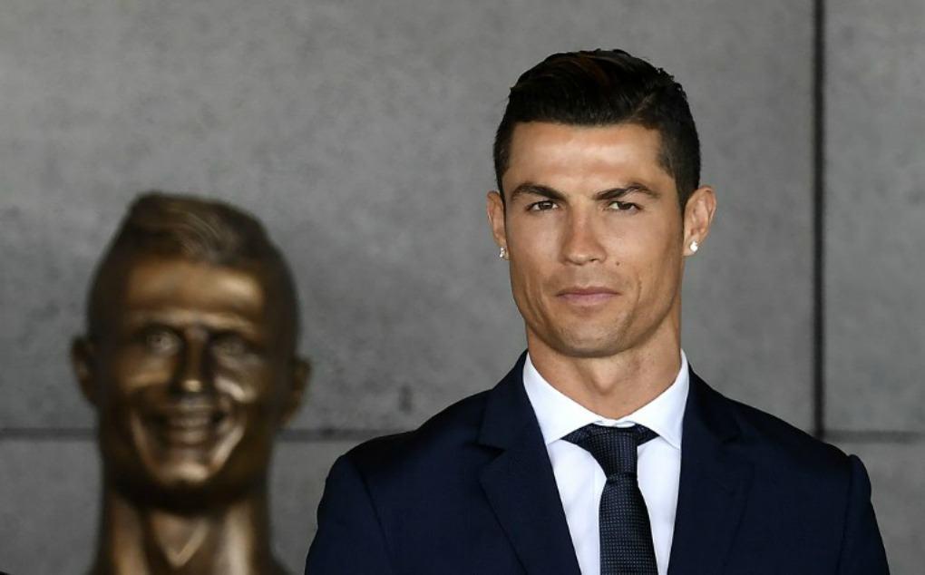 Busto de Cristiano Ronaldo.