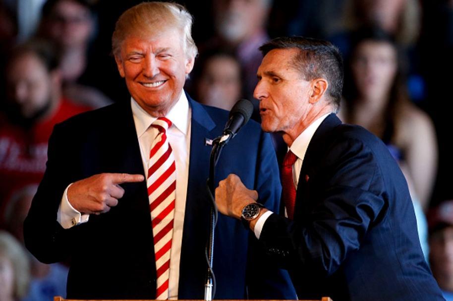 Michael Flynn y Trump