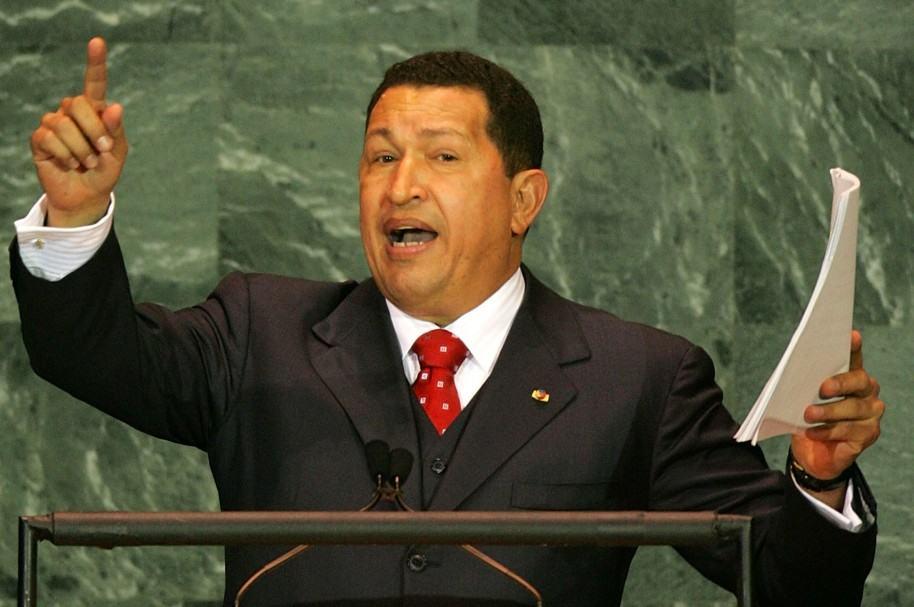 Hugo Chávez en las Naciones Unidas