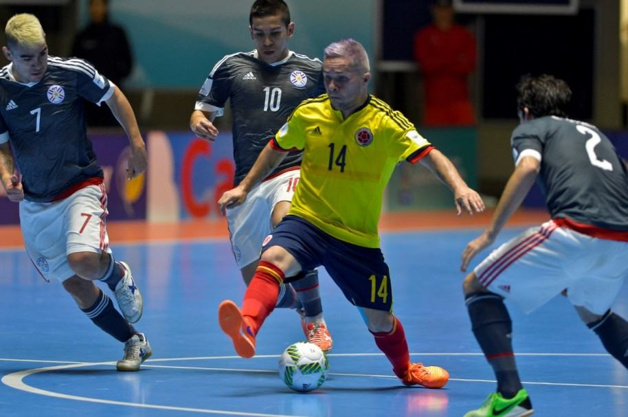 Colombia vs. Paraguay en Mundial de Fútsal