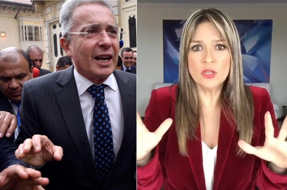 Uribe y Vicky