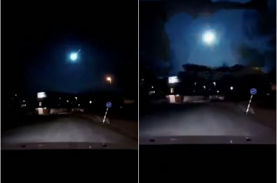 Meteorito en Suecia.