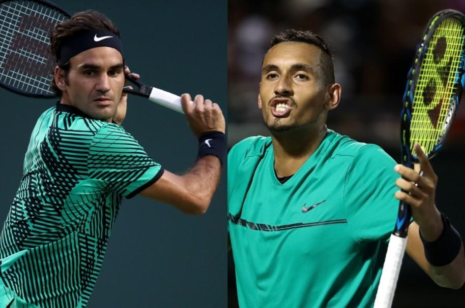 Federer vs. Kyrgios
