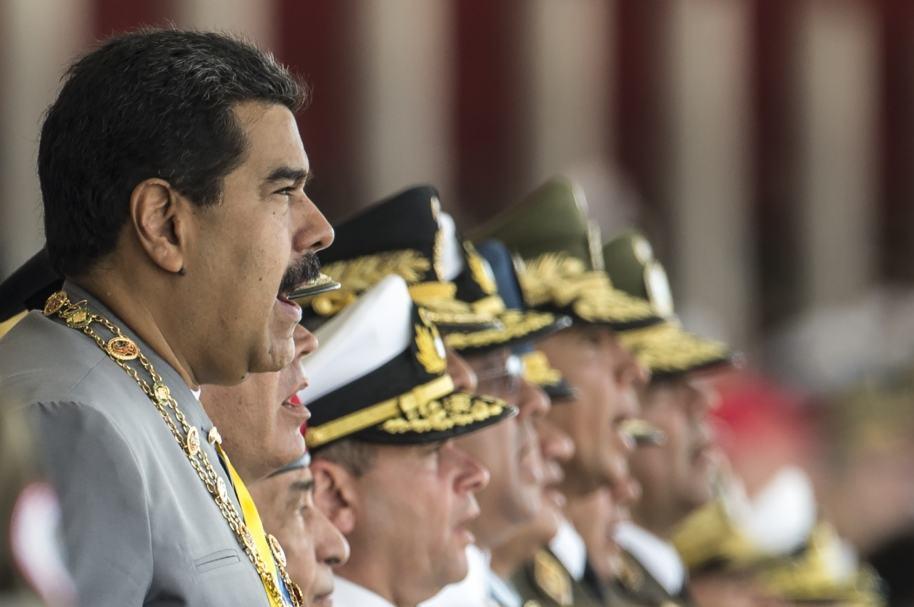 Apoyo militar a Maduro