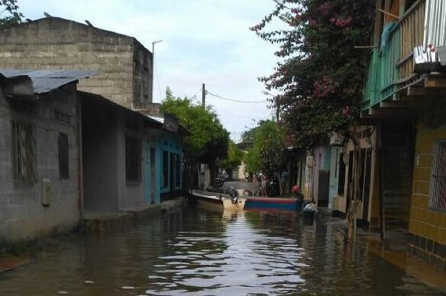 Inundación en Puerto Nare
