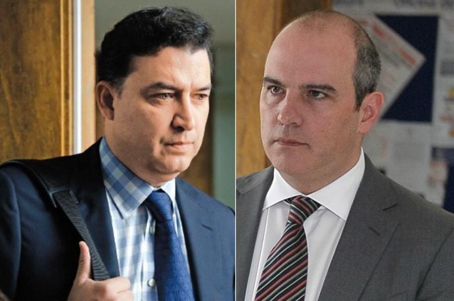 Juan Carlos Ortiz y Tomás Jaramillo Interbolsa
