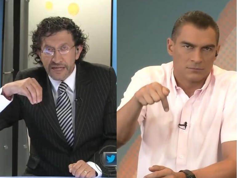 Gabriel Meluk y Faryd Mondragón
