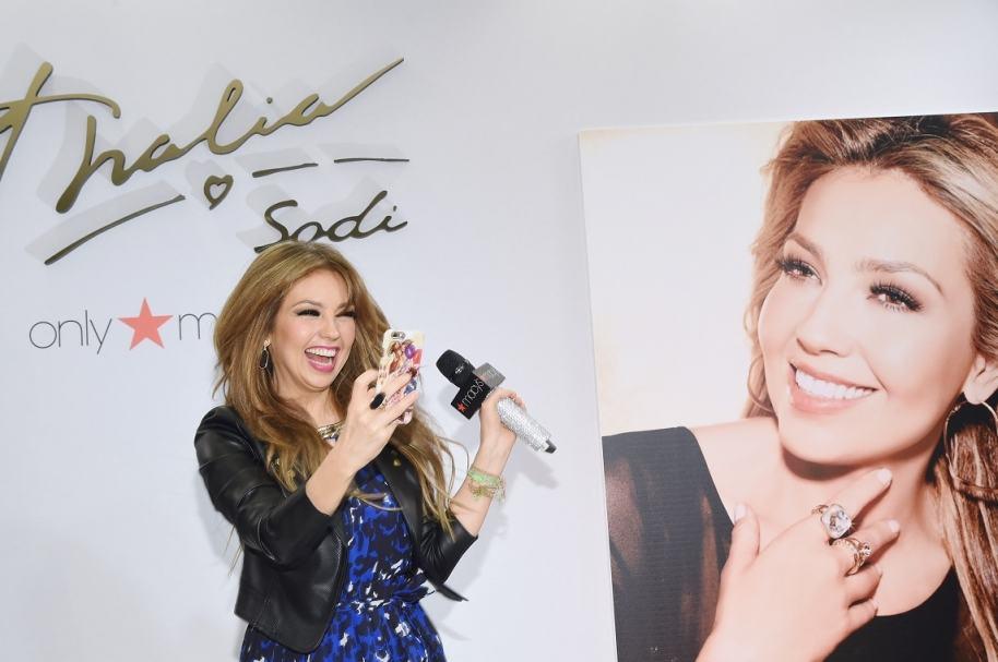 Thalía, cantante mexicana.