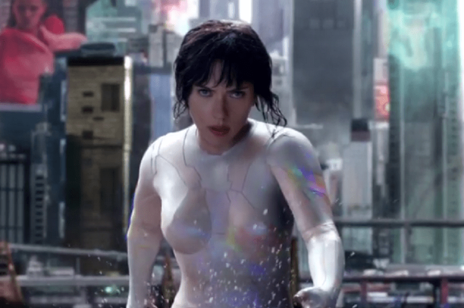 Traje Scarlett Johansson 'Ghost in the Shell'