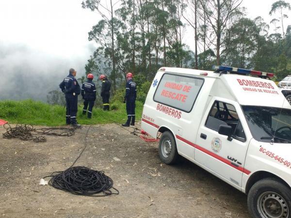 Búsqueda de menor extrviado en río Bogotá