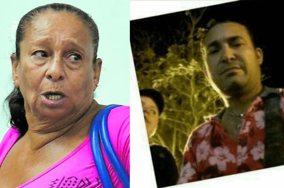 Martha Nelly García, acusada de homicidio, y su yerno Santander Enrique Moreno Pacheco, muerto