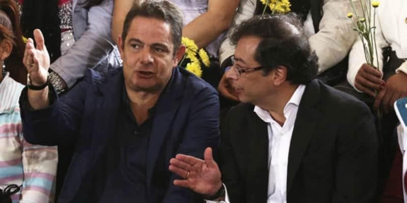 Germán Vargas y Gustavo Petro