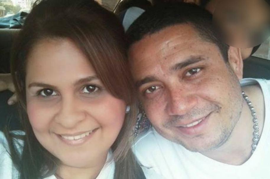 Dayana Jassir de la Hoz y su esposo asesinado Eduardo Pinto Viloria, director regional de Medicina Legal