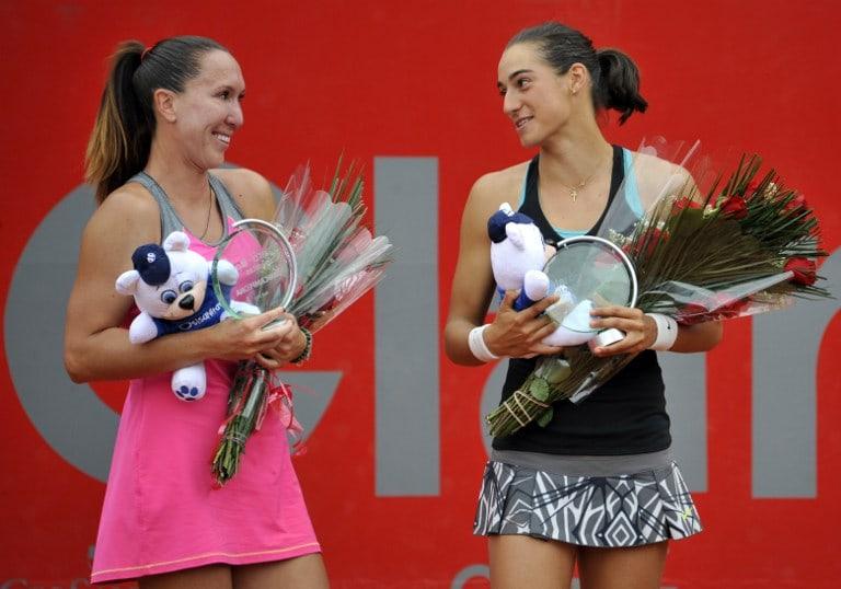 Jelena Jankovic y Caroline Garcia