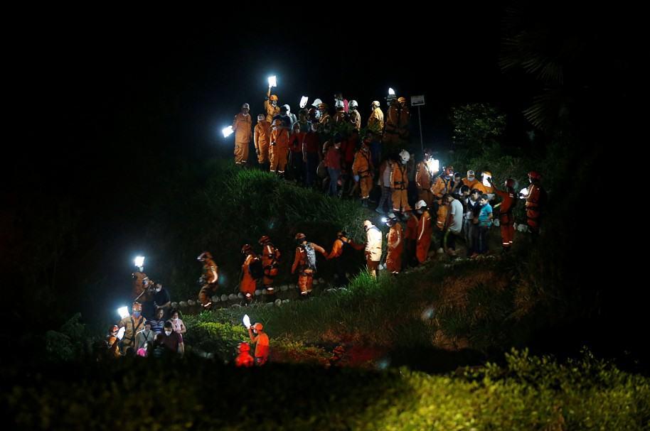 Trabajos de rescate en Mocoa