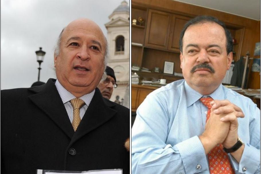 Sabas Pretelt y Alberto Velásquez