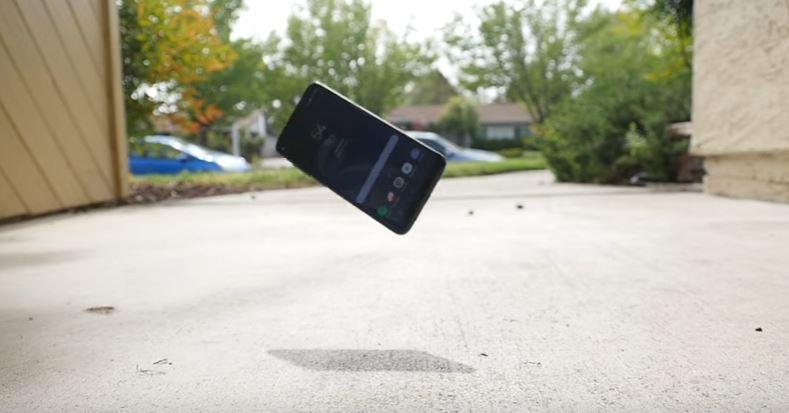 Caída Samsung Galaxy S8