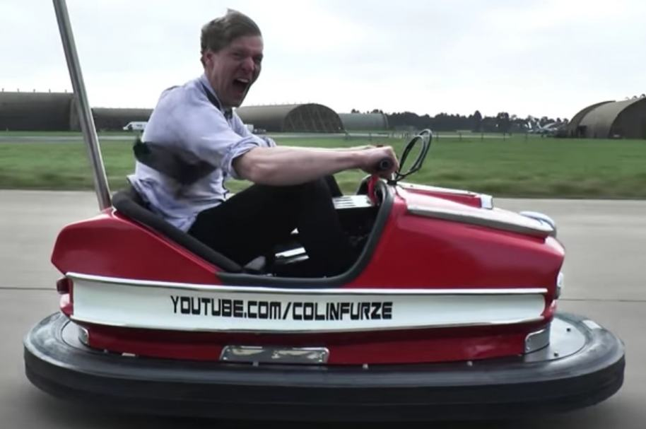 Carro 'chocón' más veloz del mundo.
