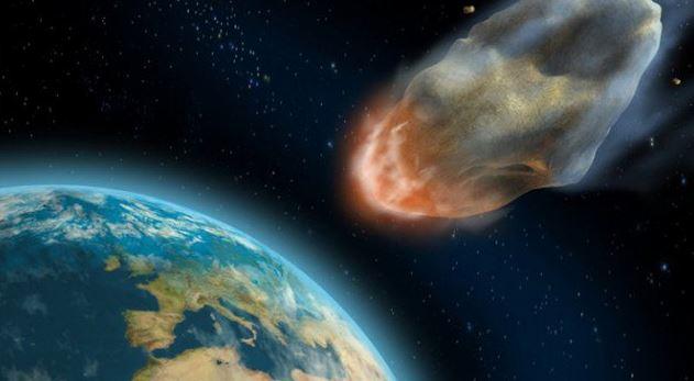 Asteroide que se dirige a la Tierra