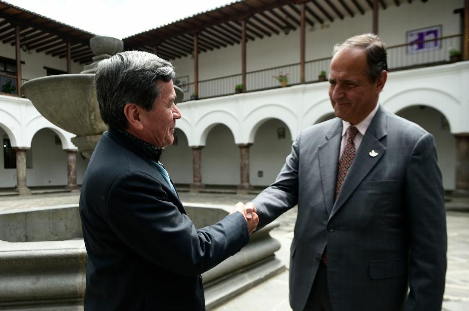 Pablo Beltrán y Juan Camilo Restrepo