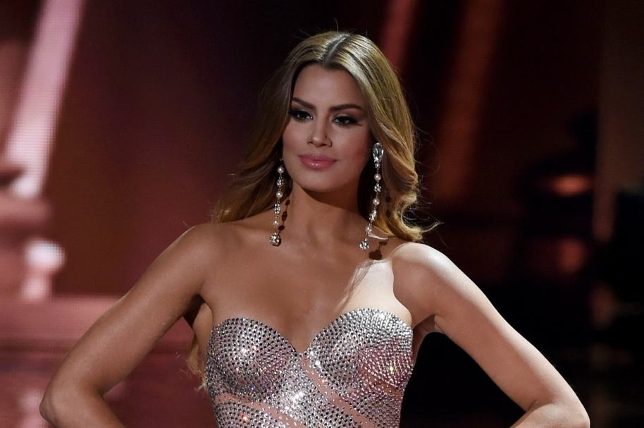 Ariadna Gutiérrez, exvirreina universal.