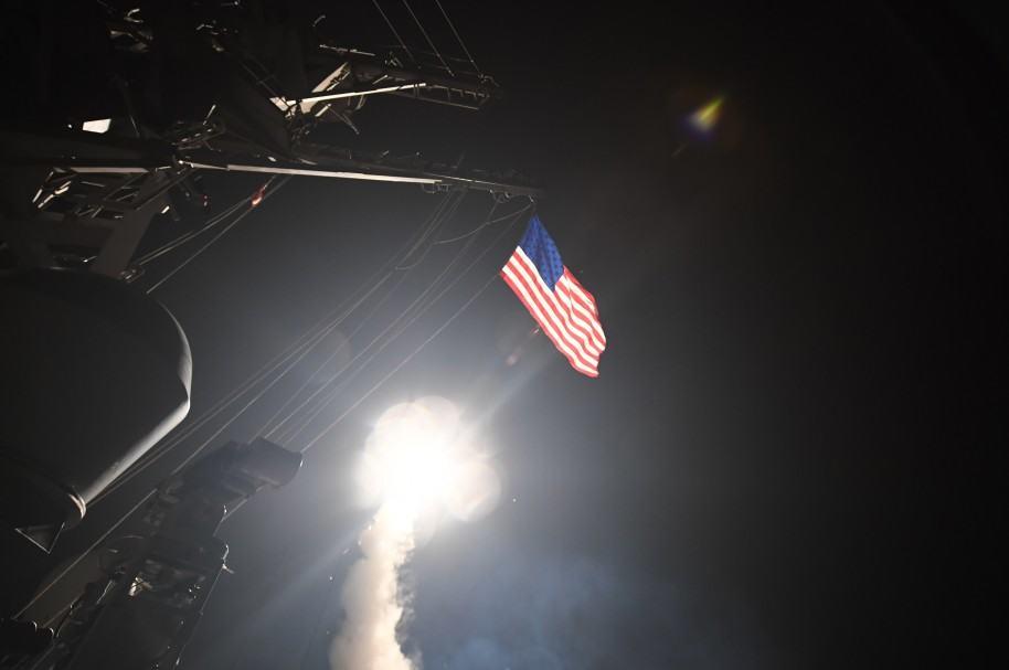 Estados Unidos atacó a Siria