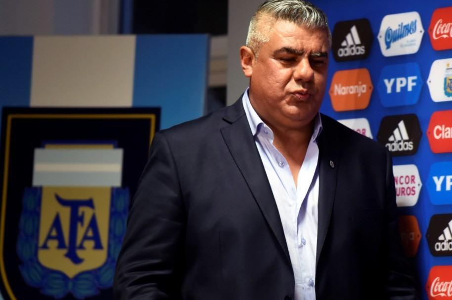 Claudio Tapia, presidente de AFA