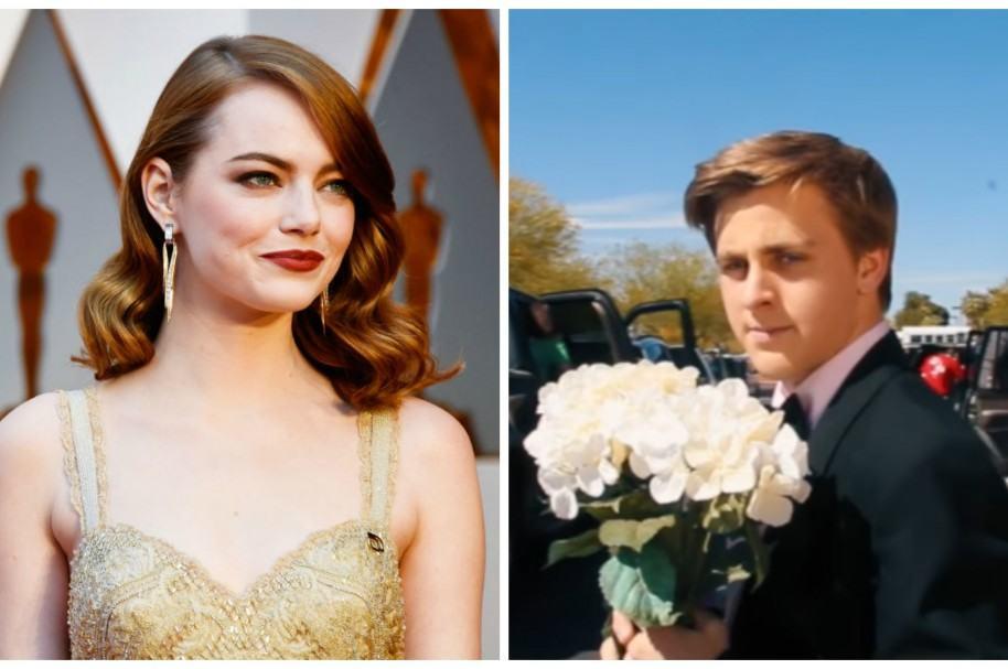 Emma Stone respuesta prom