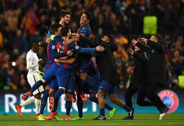 FC Barcelona vs Paris Saint-Germain