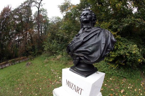 Estatua de Mozart