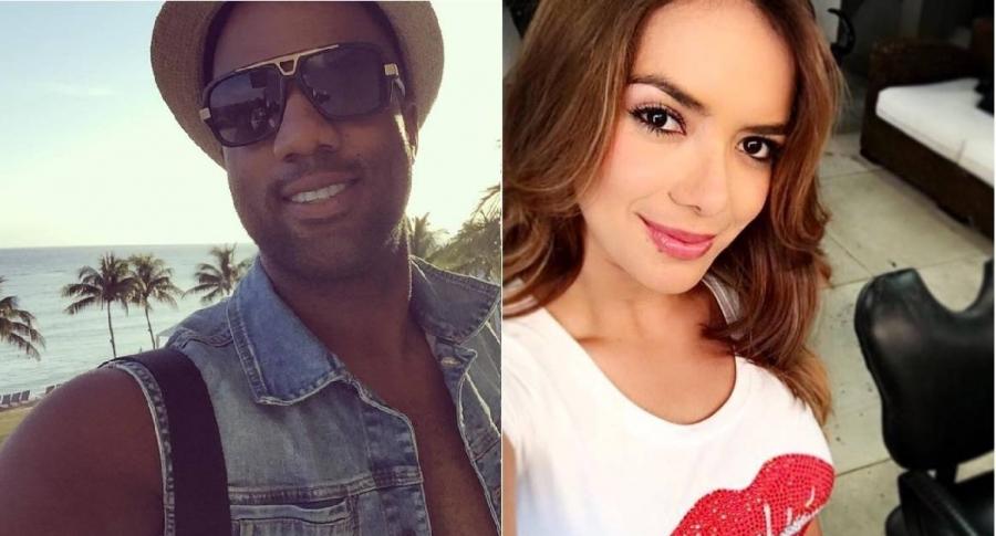 Anddy Caicedo, cantante, y Elianis Garrido, actriz y exprotagonistas de novela.