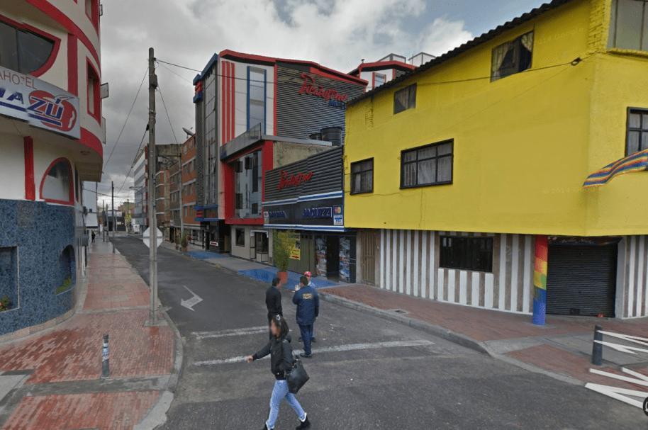 Moteles en Bogotá, foto de referencia