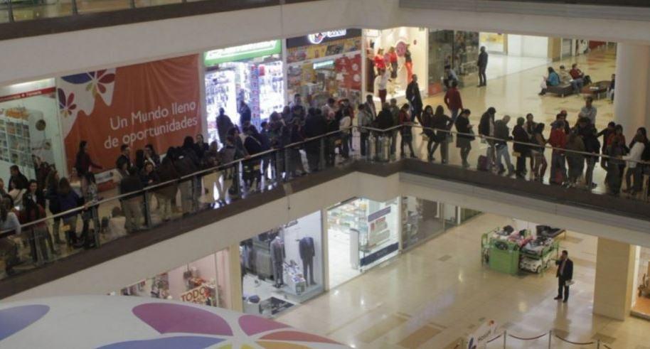 Tensión en centro comercial Santa Fe