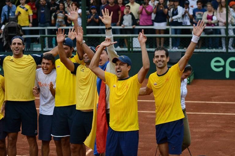 Equipo Copa Davis Colombia