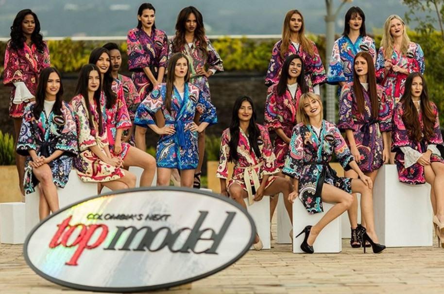 Participantes de 'Colombia's next top model' 2017.