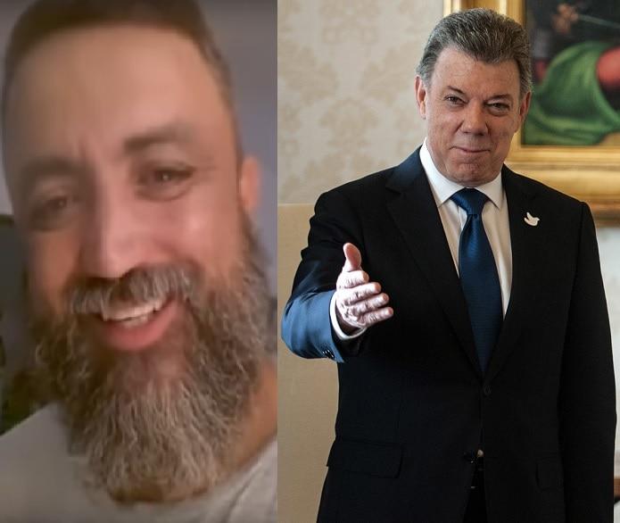Sicópata amenaza a Juan Manuel Santos