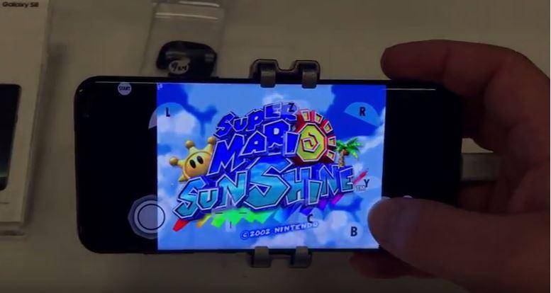 Juegos GameCube en Galaxy S8