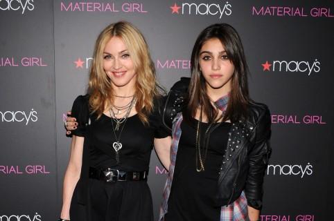 Madonna y Lourdes León