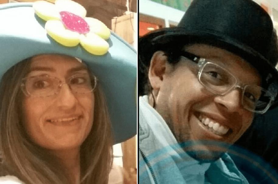 Claudia Giovanna Rodríguez Altuzarra y su asesino Julio Alberto Reyes,también muerto