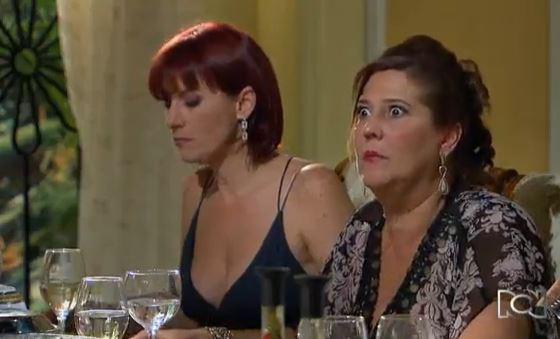 Kristina Lilley y 'Mile' Vergara, actrices de 'Chepe Fortuna'.