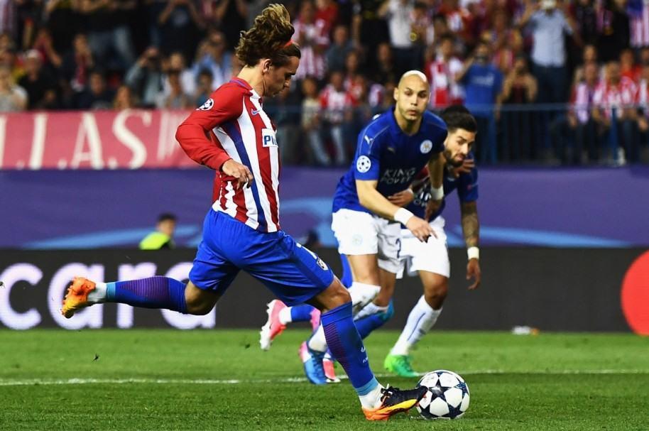 Atlético 1-0 Leicester